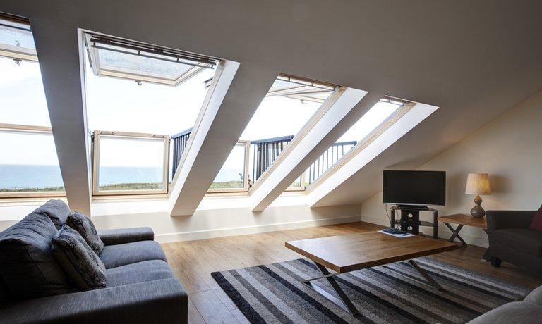 Upstairs living room