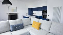 Open plan living area - perfect for groups
