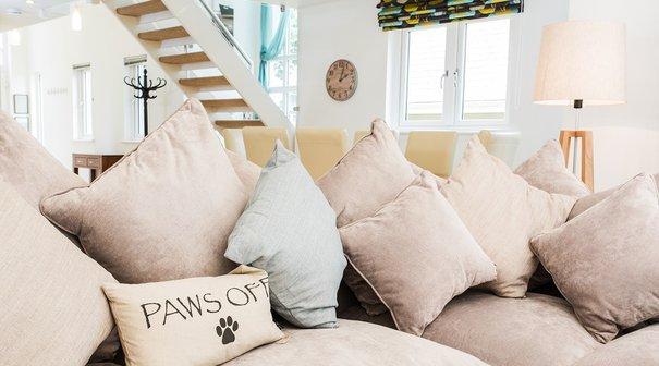 Relax inside the plush three bedroomed, luxury villa