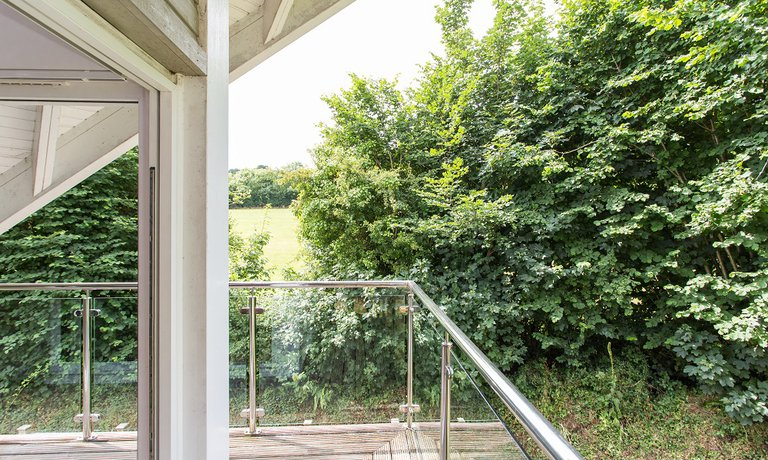 Balcony overlooking Trewhiddle