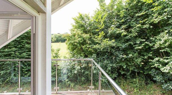 Four bedroomed luxury villa with balcony