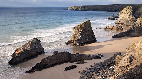 Bedruthan Steps, near Newquay