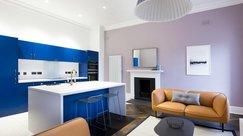 Spacious living/ kitchen area