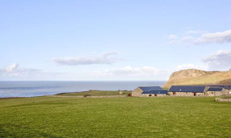 Perched on the coast with views of the incredible Nefyn Bay