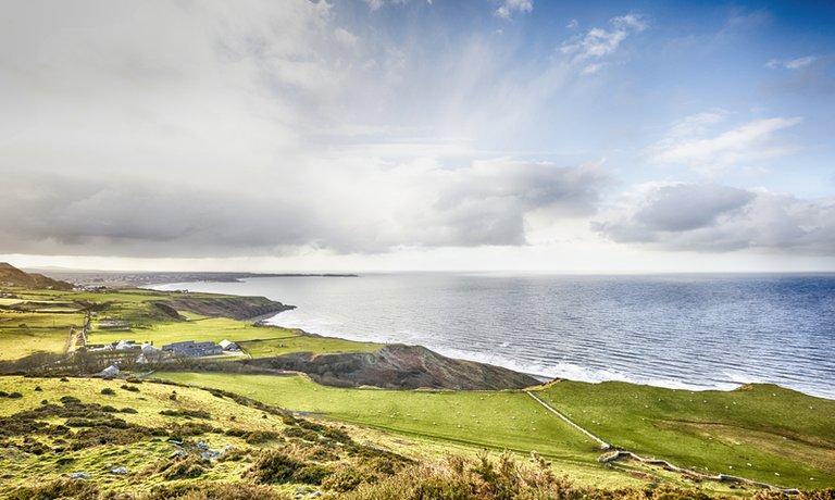 Breath-taking views over Nefyn Bay